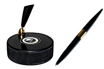 Buffalo Sabres Autograph Series Hockey Puck NHL Desk Pen Holder