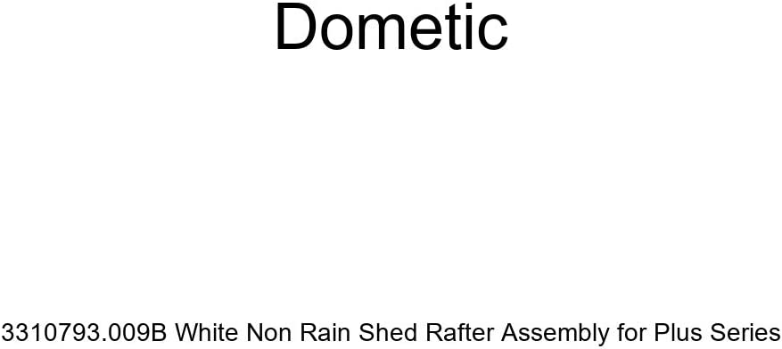 Dometic 3310793.009B White Non Rain Shed Rafter Assembly for Plus Series