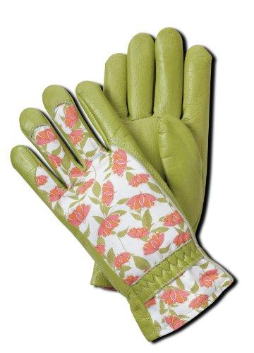 - Magid BE268T Bella Floral Back Grain Palm Garden Glove, Small
