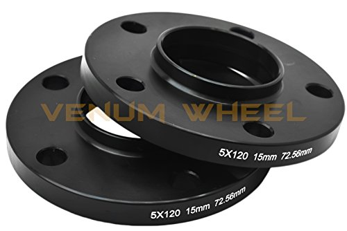 4 Pc BMW F-Series 12mm & 15mm Staggered Wheel Spacers Hub Centric 5x120 - 72.56 H.B - F30 F31 320 328 335 F80 M3 F32 F82 M4 435 F22 F23 228 235 F10 528 535 M5 F11 by Venum wheel accessories (Image #7)