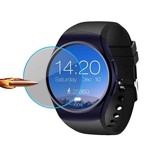 3 PCS FOR LEM5 X 5 X5 PLUS KW88 KW18 GW01 Q3 AIR empered Glass Ultra-thin 2.5D 9H Clear Smart Watch Film Screen Protector (LEM5 X 5 X5PLUS Q3) (Samsung Cf390 Series Curved 21-5 Inch Fhd Monitor)