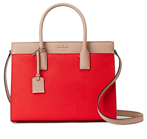 Kate Spade New York Cameron Street Candace Satchel Bag (prickly pear multi) by Kate Spade New York