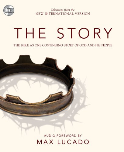 NIV, The Story, Audio CD: The Bible as One Continuing Story of God and His People