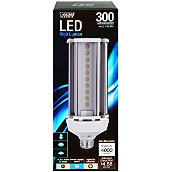 Feit C4000/5K/LED 300W Replacement 5000K Non-Dimmable LED Light Bulb
