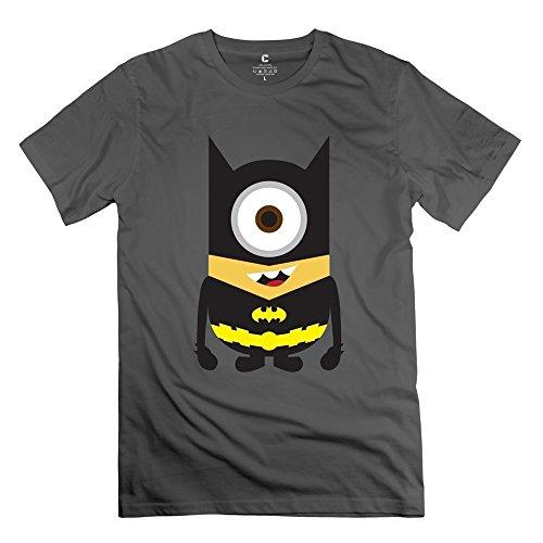ZHUYOUDAO Men's The Avengers Batman Despicable Me Minions 100% Cotton T-Shirt