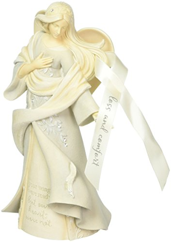 Foundations Loss & Comfort Angel Stone Resin Figurine, 9.25