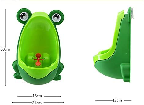 30*21*17CM verde. verde Orinal infantil Leisial