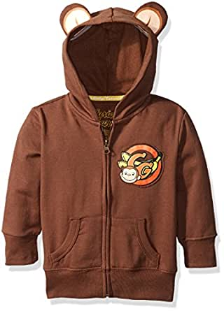 Amazon Com Curious George Toddler Boys Hoodie With Ears