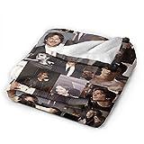 Ian-Somerhalder Fleece Blanket Ultra-Soft Micro for
