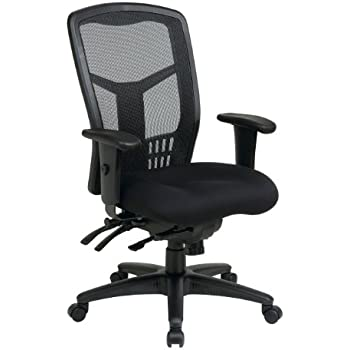 Amazoncom LANGRIA MidBack Mesh Computer Desk Chair Executive