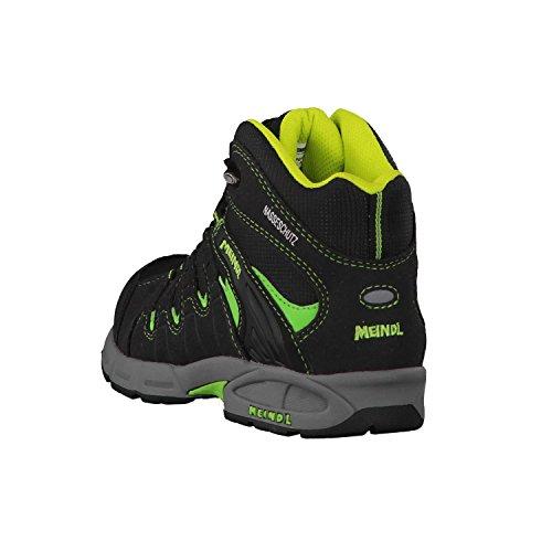 grau de Chaussures Mixte Wanderschuhl Mid Junior Snap Randonnée Meindl Hautes Enfant wPqSCW