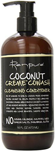 (Renpure Coconut Creme Cowash Cleansing Conditioner, 16 Ounce)