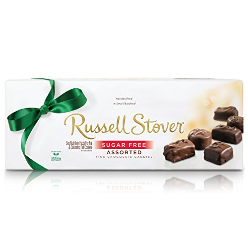 (Russell Stover Sugar-Free Assorted Chocolates, 8.25 Ounce Box (Pack of 3))
