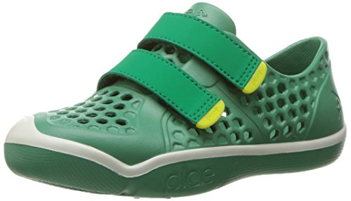 PLAE Boys' Mimo Sneaker, Green Spruce, 8 M US -