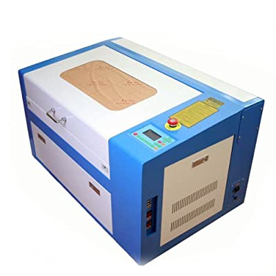 Generic Co2 Laser Engraving Machine Cutting Engraver with Cylinder Rotray Attachment 50w Auxiliary Rotary