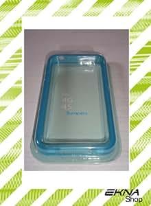 "Funda illoomballoon iphone 4 4S ""fluorescente brillante case"" Poliuretano termoplástico Glow in the dark - azul"