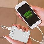 Syska 10000 mAh Li-Polymer P1016B Power Pocket100 Power Bank (White)