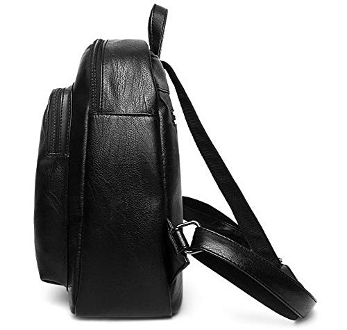 bandoulière Sacs à Sacs Dos Daypack Zippers à Tourisme Dacron Femme Noir FBUFBC181780 AllhqFashion Noir Ivq8X