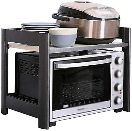 WIN&FACATORY Muebles de Cocina: Soporte de microondas de Doble ...