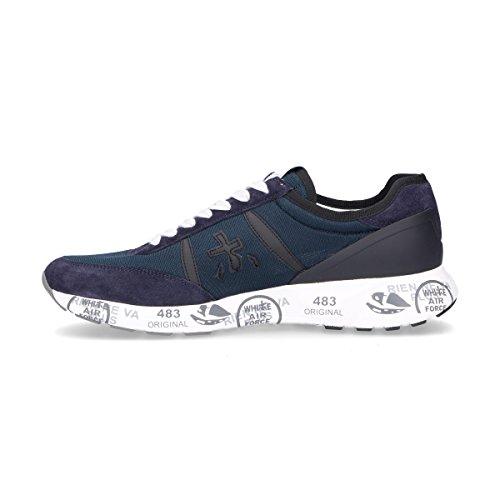 PREMIATA Sneakers Uomo HANZO2910 Camoscio Blu