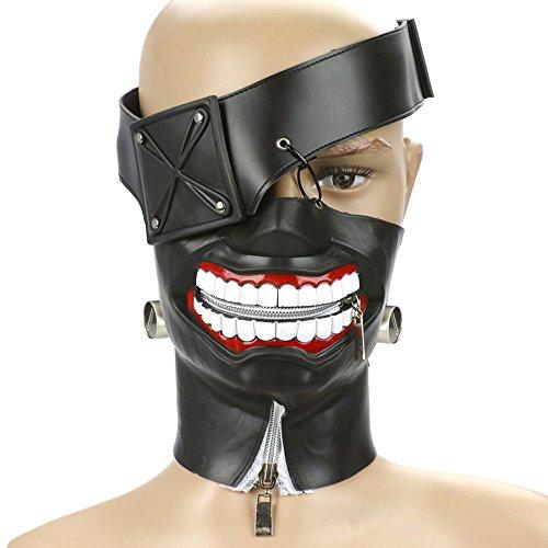 CoolChange Máscara de Alta Calidad Tokyo Ghoul de Ken Kaneki de Goma: Amazon.es: Juguetes y juegos