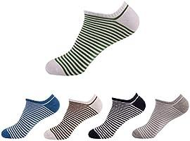 HBF Calcetines Pack 5 Pares Calcetines Cortos Hombre Calcetines Invisibles Para Verano