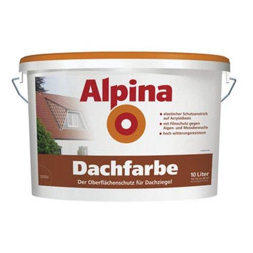 Alpina Dachfarbe Ziegelrot 5 L