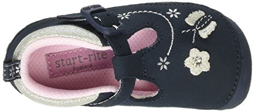 Start Rite Mayflower Narrow, Mocasines para Niñas Azul (Navy Blue)