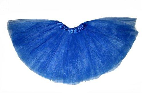 Girls Ballet Tutu Skirt By Mystiqueshapes Royal Blue