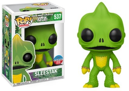 Sleestak Bobble Head - 2017 NYCC Exclusive Pop! - Television: Land of the Lost - Sleestak with NYCC Sticker