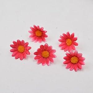 100pcs Artificial Flower Small Silk Sunflower Handmade Head Wedding Decoration DIY Wreath Gift Box Scrapbooking Craft Fake Flowe 3