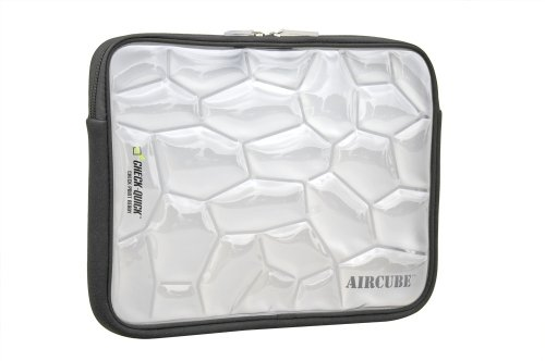 Sumdex AirCube Thermaplastic Urethane and Neoprene Notebook Sleeve for up to 14.1-Inch Notebook Computer (Black) by Sumdex