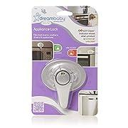 Dreambaby Swivel Appliance Lock W/ E-Z Indicator Single Pack- Silver