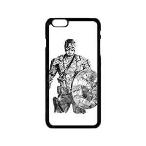 Custom Captain America Desgin High Quality Case Cover Fashion Style for iPhone 6/6s