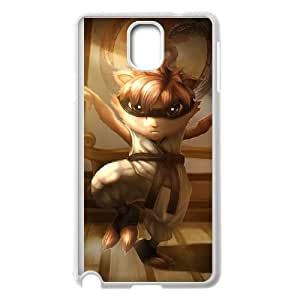 Samsung Galaxy Note 3 Cell Phone Case White League of Legends Karate Kennen OIW0392730