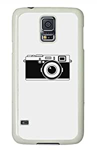 The Camera PC White Hard Case Cover Skin For Samsung Galaxy S5 I9600