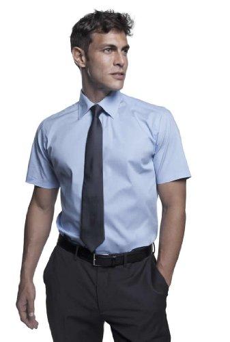 SOLS Herren Stretch-Hemd Broadway kurzarm, Black, S
