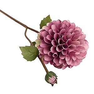 YJYdadaS Single Artificial Flower Dahlia Bridal Wedding Bouquet Home Furnishing Decor 51