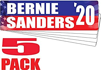 Bernie Sanders Skater Skate Board 2020 Campaign UV Vinyl Bumper Sticker Decal