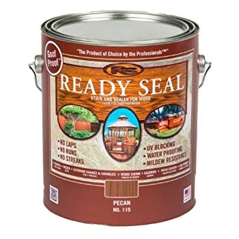 Ready Seal 115 1 Gallon Can Pecan Exterior Wood Stain And Sealer Home Improvement