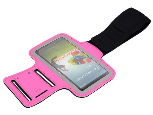 - Cases Kingdom Deluxe Arm Band Running Sports Gym Armband Case for Samsung Galaxy S4 S IV i9500 Hot Pink