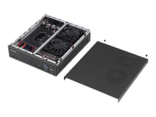 Shuttle XPC Slim DH170 Mini Barebone PC Intel H170 LGA 1151 Kabylake/Skylake Heatpipe Cooling Module No CPU No Ram No HDD/SSD No OS