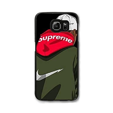 separation shoes 728c4 132aa Custom Cases Supreme- Samsung Galaxy S7 Edge Case Cover: Amazon.co ...