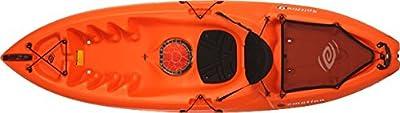 90247 Emotion Spitfire Sit-On-Top Kayak, Orange, 9' from Lifetime OUTDOORS