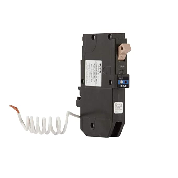 Cutler Hammer 20amp Dual Purpose Combination Arc Fault with Ground Fault Protection by CUTLER HAMMER