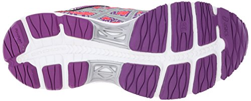 Asics Gel-Cumulus 17Lite-show de la mujer running Shoe Diva Pink/Silver/Grape