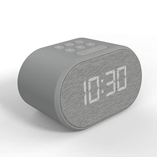Wekkerradio met USB Oplader & FM Radio, Radiowekker Digitaal, Alarm Clock Wekker Dimbaar Display met 5 Stappen en Dual…