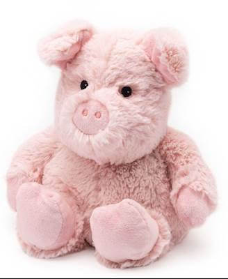 PIG - WARMIES Cozy Plush Heatable Lavender Scented Stuffed Animal