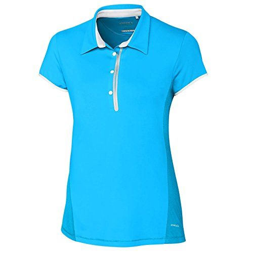Cutter & Buck LAK06389 Women's Annika Competitor Polo Shirt, Hemisphere - M