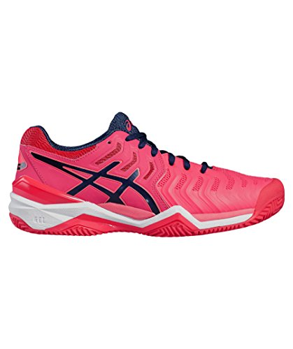 Asics Gel-Resolution 7 Womens Tennisschuh rosa - blau - weiß